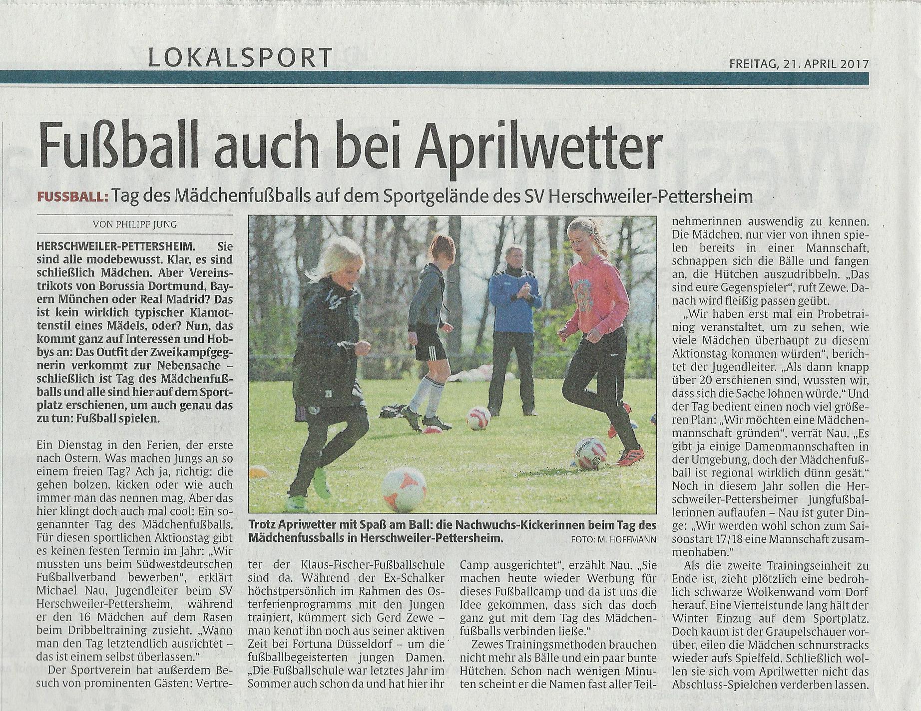 Zeitungsartikel Bild
